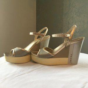 Vintage PRADA Wedge/Sandals